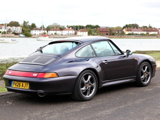 Porsche 993 Carrera Is Very Special Philip Raby Porsche