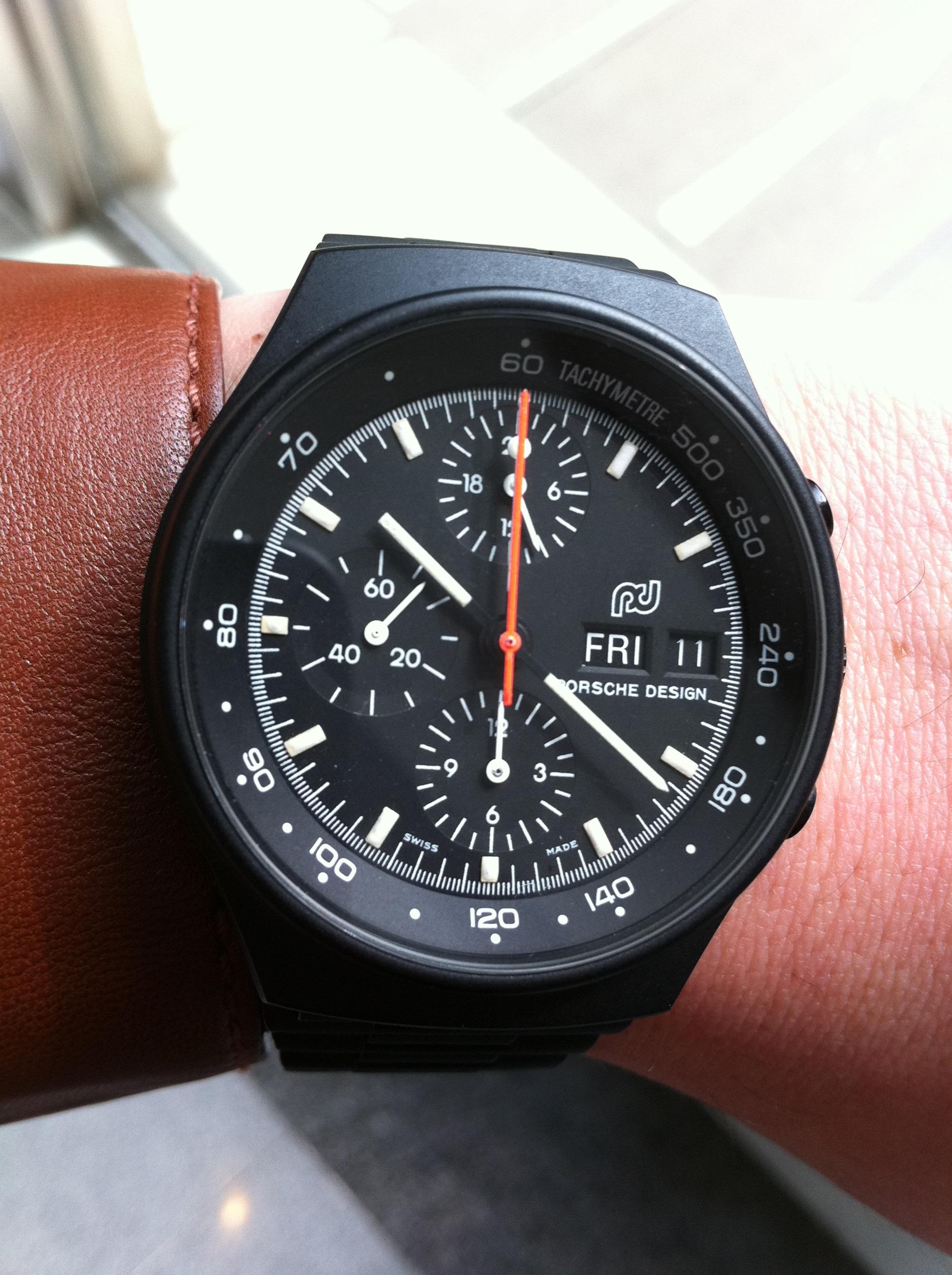 The Porsche Design Pd01 Wristwatch Philip Raby Porsche