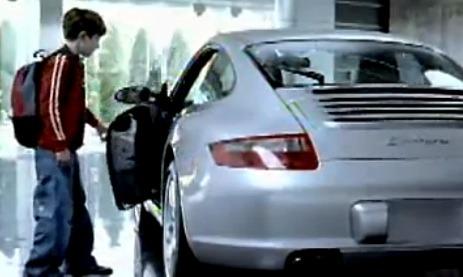Great Porsche 997 advert
