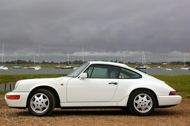 White Porsches are cool again