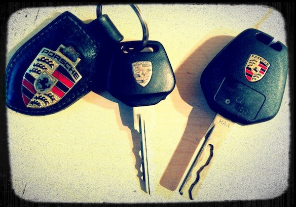 The keys to your Porsche