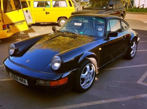 Porsche 964 is better than expected