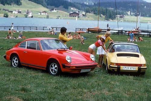 Porsche 911 marketing photos – old and new