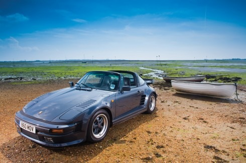 Rare Porsche 911 Turbo Targa featured in magazine