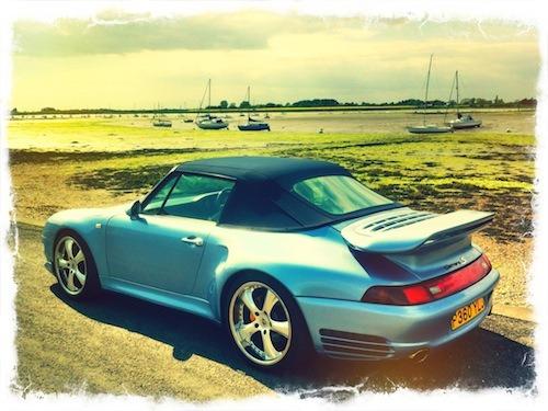Modified Porsche 993 is surprisingly good