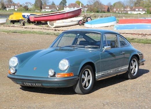 Original numbers Porsche 911T