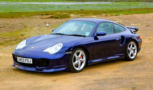 The excitement of a Porsche 996 Turbo