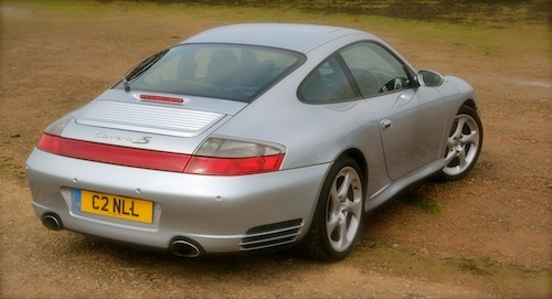 Porsche 996 is a great looking car – period
