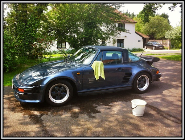 The joy of cleaning a Porsche 911