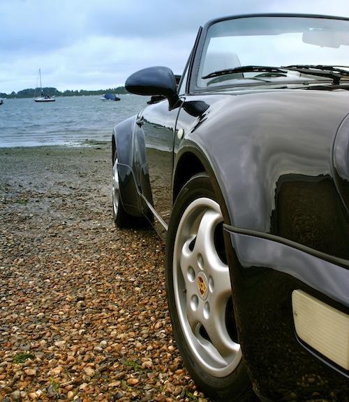 Porsche 964 Cup wheels and mirrors aren't cheap