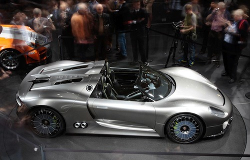 Porsche 918 Spyder makes its UK debut at the Goodwood Festival of Speed