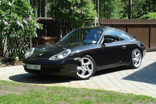 Porsche 996 for sale in Latvia