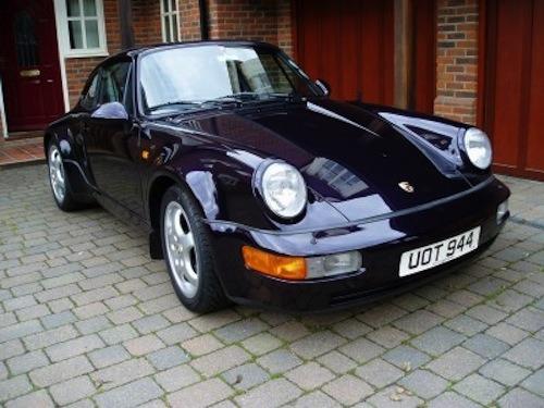 Porsche 964 Anniversary sells for top money