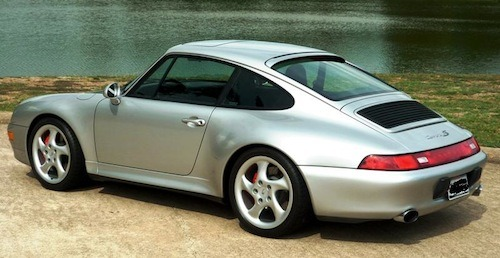 Low mileage Porsche 993 Carrera 4S in the USA