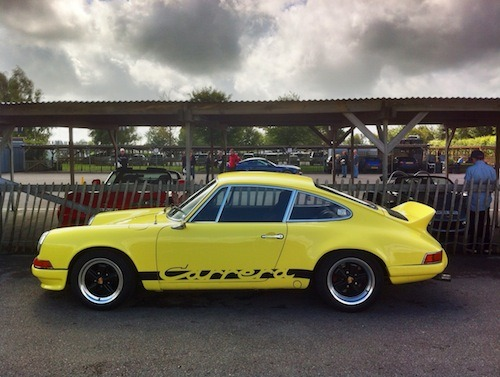 Porsche Carrera 2.7RS spotted at Goodwood