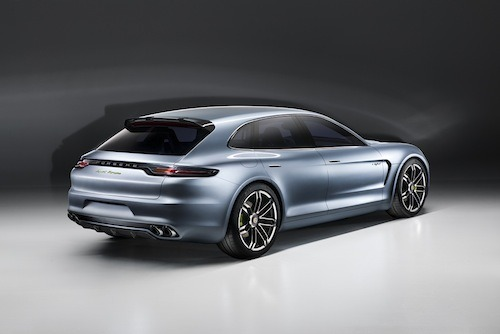 Porsche unveils the Panamera Sport Turismo estate car