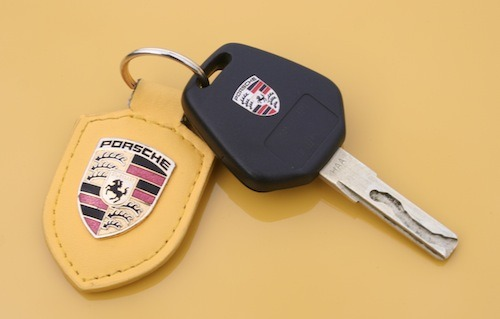 How much for a Porsche ignition key?