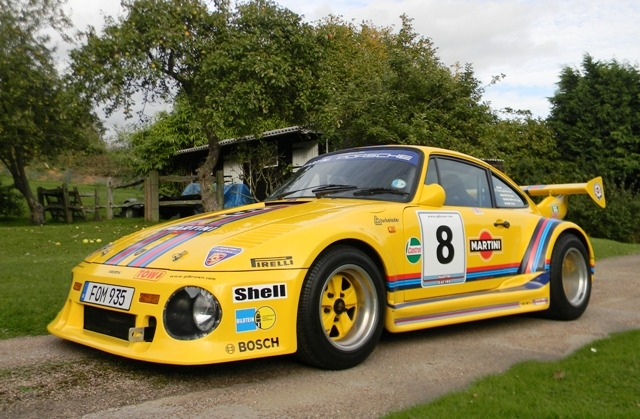 Replica Porsche 935 goes to auction