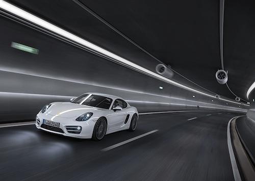 The Porsche Cayman is full of surprises