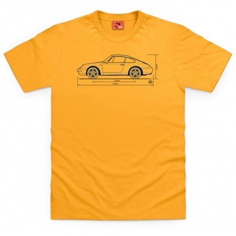 Porsche 993 tee-shirt and mug