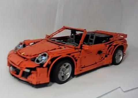 The ultimate Lego Porsche 911