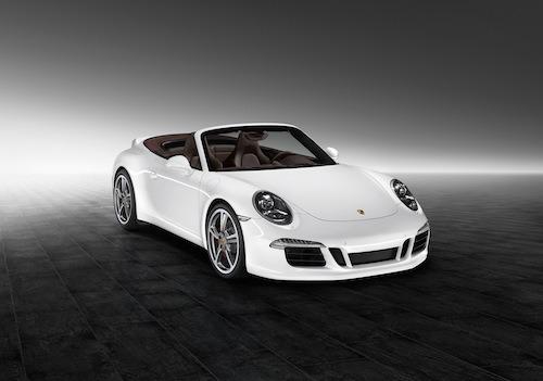 A Carrara White Porsche 911 Carrera