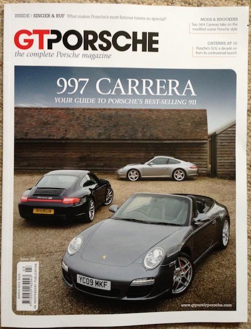 Porsche 997 buyers' guide in GT Porsche magazine