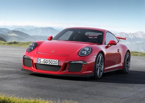 The new Porsche 991 GT3