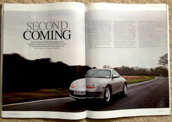 Porsche 996 in GT Porsche magazine