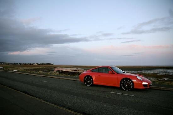 Collecting Porsches from around Britain