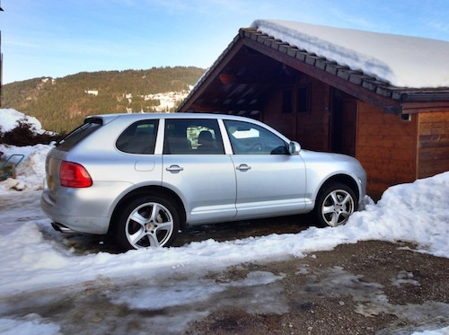 Farewell to the Cayenne