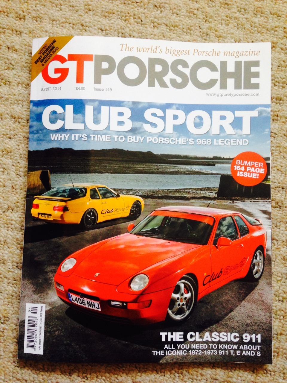 GT Porsche, April 2014