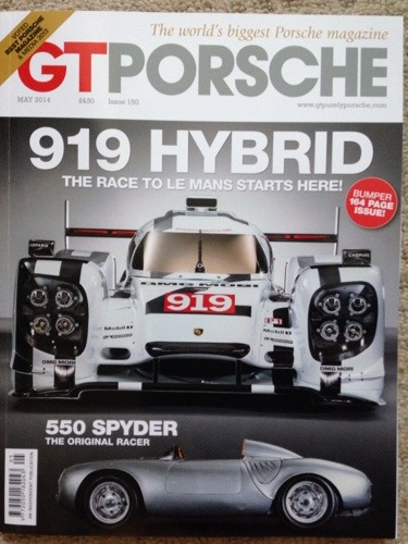 Lots of Porsche action in the May 2014 issue of GT Porsche