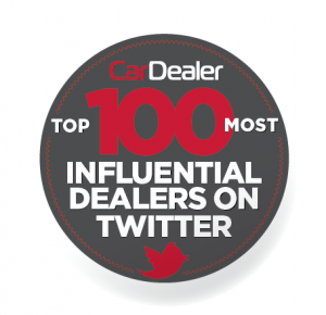 Top 100 most influential car dealers on Twitter