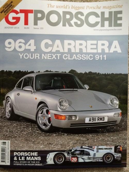 GT Porsche magazine, August 2014