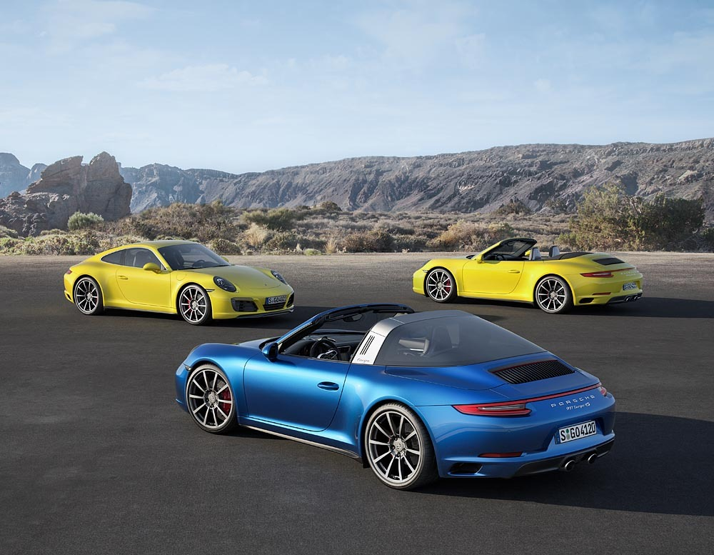 Read more about the article The new Gen2 Porsche 991