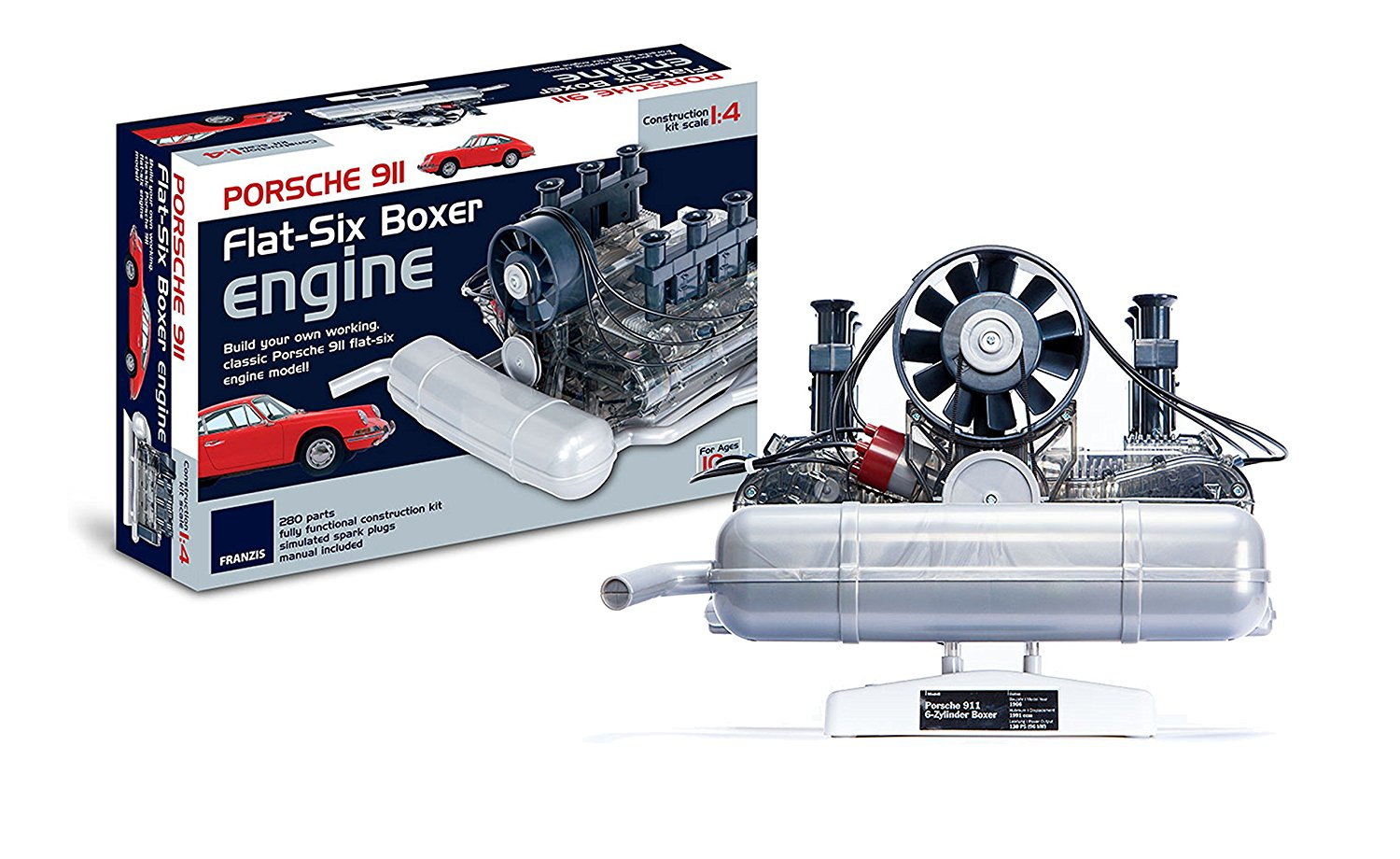 Win a Porsche 911 engine for Christmas!