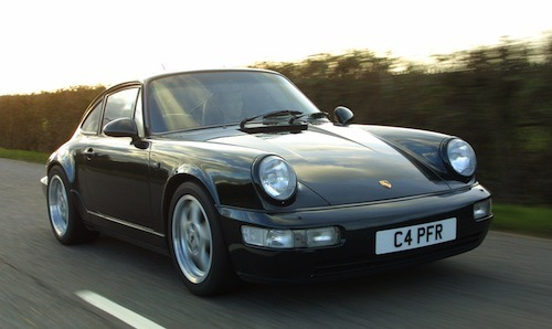 Collecting my first Porsche 964 from Germany, back in 2002