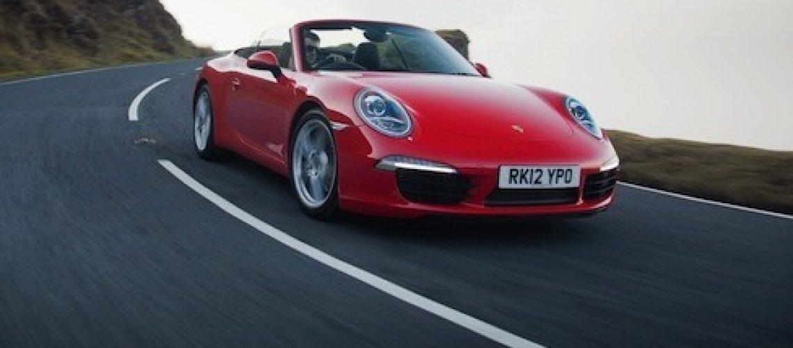 The new 911 Cabriolet is the lowest depreciating car in the UK