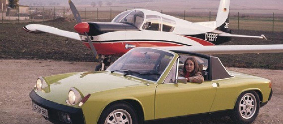 Porsche 914 - a rare sight on UK roads