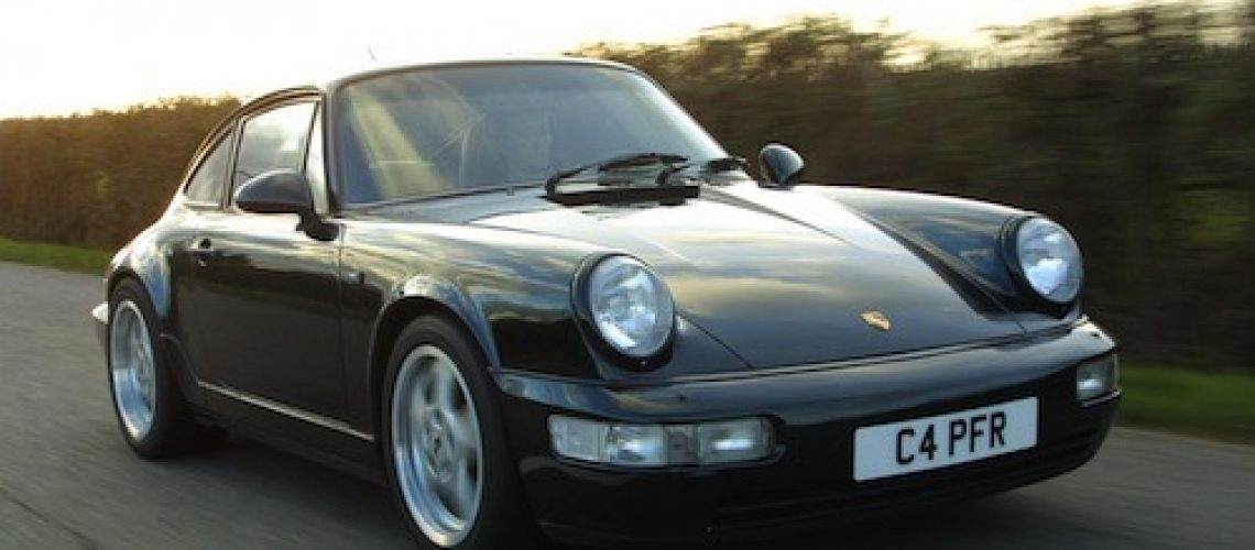Philip Raby's Porsche 964 is gone but by no means forgotten