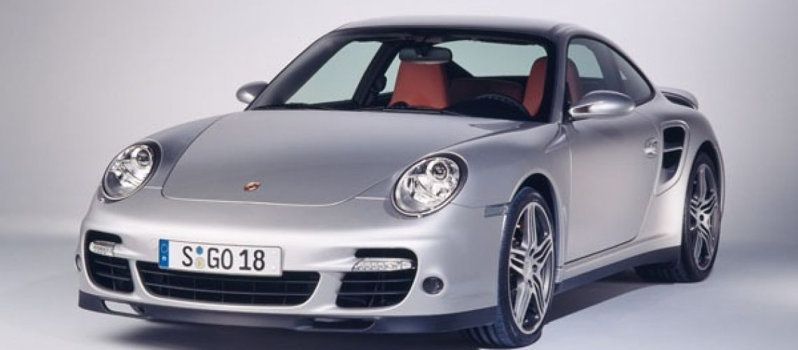 Even a modern Porsche, such as a 997 Turbo, won't drop much in value