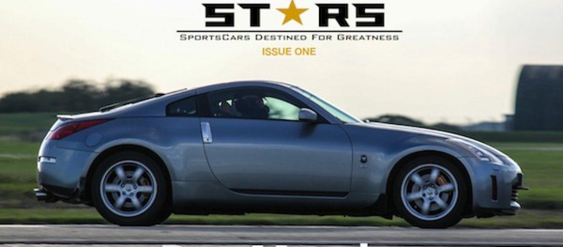 MotorStars Issue One Magazine Cover New